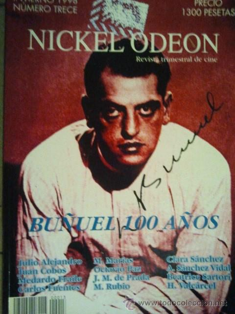 13 REVISTA TRIMESTRAL DE CINE NICKEL ODEON INVIERNO 1998 BUÑUEL 100 AÑOS (Cine - Revistas - Nickel Odeon)