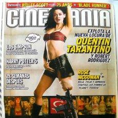 Cine: REVISTA DE CINE CINEMANIA JULIO 2007-LOS SIMPSON-HARRY POTTER 5-TRANSFORMERS-RIDLEY SCOTT-ROSE MCGOM. Lote 45509491
