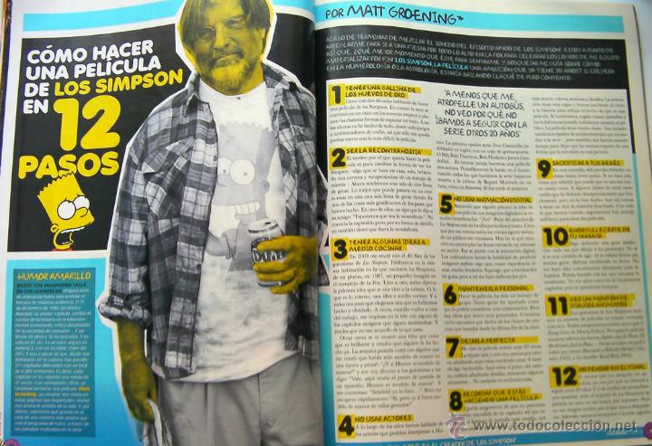 Cine: Revista de Cine Cinemania julio 2007-Los Simpson-Harry Potter 5-Transformers-Ridley scott-rose McGom - Foto 3 - 45509491