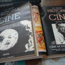 Cine: LA GRAN HSITORIA DEL CINE - TERENCI MOIX (COMPLETA) ENCUADERNADA EN 2 VOLUMENES. Lote 45520371