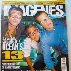 Cine: REVISTA DE CINE IMAGENES-JUNIO 2007-OCEAN´S 13-SHEREK 3-PIRATAS DEL CARIBE 3-LO ULTIMO DE NICOLE KID. Lote 45525749