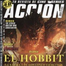 Cine: ACCION N. 1409 SEPTIEMBRE 2014 - EN PORTADA: EL HOBBIT, LA BATALLA DE LOS CINCO EJERCITOS (NUEVA). Lote 45600819