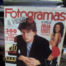 Cine - REVISTA FOTOGRAMAS Nº 1768 NOVIEMBRE 1990 - 45784222