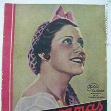 Cine: REVISTA CINEGRAMAS AÑO 1 Nº5 MADRID 14 DE OCTUBRE DE 1934. Lote 45923554