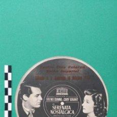 Cine: PUBLICIDAD DE LA PELÍCULA SERENATA NOSTALGICA. CINE EUTERPE SABADELL.. Lote 45981549