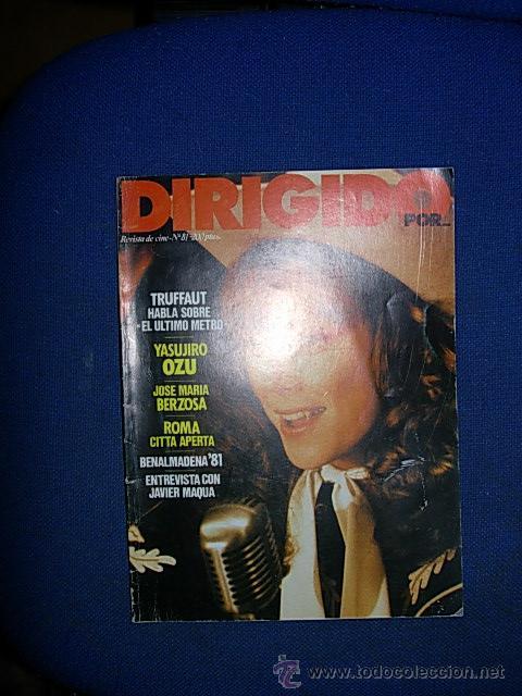 DIRIGIDO POR Nº 81 MARZO 1981 (Cine - Revistas - Dirigido por)