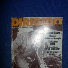 Cine: DIRIGIDO POR Nº82 ABRIL 1981. Lote 46006026