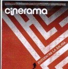 Cine: REVISTA CINERAMA ** SEPTIEMBRE 2014 - PORTADA: EL CORREDOR DEL LABERINTO. Lote 46036841