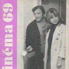 Cine: CINEMA 69 Nº 137, JUNIO 1969 [FRA]. Lote 46108909