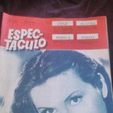 Cine: REVISTA ESPECTÁCULO,CINE,TEATRO,MÚSICA Y TOROS, NANI FERNANDEZ EN PORTADA. AÑO IV 1951. Lote 46318743