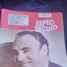 Cine: REVISTA ESPECTÁCULO,CINE,TEATRO,MÚSICA Y TOROS, MANUEL LUNA EN PORTADA. AÑO IV 1951. Lote 46318868