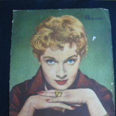 Cinema: RADIOCINEMA Nº 466. LISA GASTONY, DOLORES HART, CARLOS LARRAÑAGA. 29 AGOSTO 1959. Lote 46403659