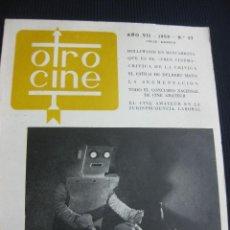 Cine: REVISTA OTRO CINE Nº 37. EL CINE AMATEUR. QUE ES EL FREE CINEMA. JULIO-AGOSTO 1959.. Lote 46404274