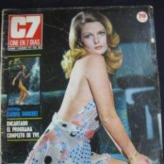 Cinema: REVISTA C7 CINE EN 7 DIAS Nº 608. BEBA LONCAR EN PORTADA. KARINA BOUCHET. 2 DICIEMBRE 1972. Lote 46407336