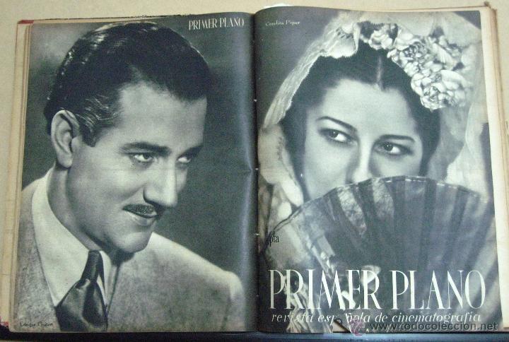 PRIMER PLANO REVISTA COLECCION 2 TOMOS LOS 53 PRIMEROS NUMEROS (Cine - Revistas - Primer plano)
