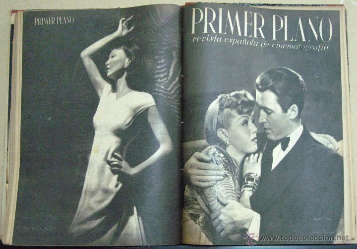 Cine: PRIMER PLANO REVISTA COLECCION 2 TOMOS LOS 53 PRIMEROS NUMEROS - Foto 5 - 46409147