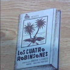 Cine: CUATRO ROBINSONES. Lote 46431324