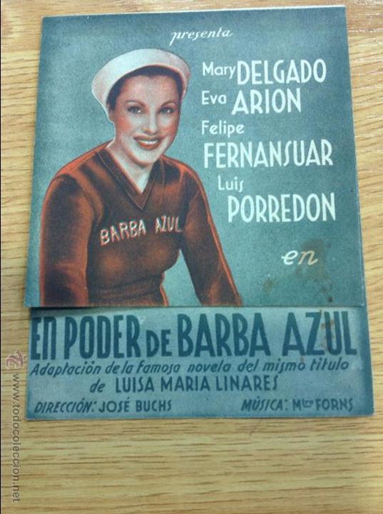 PODER DE BARBA AZUL (Cine - Revistas - Papeles de cine)