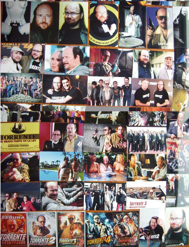TORRENTE, 60 REPRODUCCIONES EN FOTO. (Cine - Reproducciones de carteles, folletos...)
