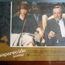 Cine: CARTEL PUBLICITARIO DE : DESAPARECIDO, DE: 33,5 X 24 CTM.. Lote 46536301