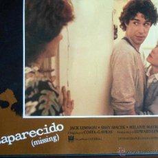 Cine: CARTEL PUBLICITARIO DE :DESAPARECIDO, DE: 33,5 X 24 CTM.. Lote 46536322