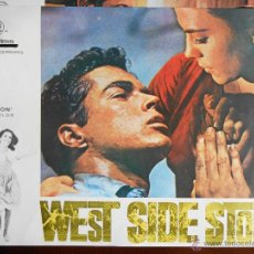 Cine: CARTEL PUBLICITARIO DE :WEST SIDE STORY, DE: 33,5 X 24 CTM.. Lote 46536646