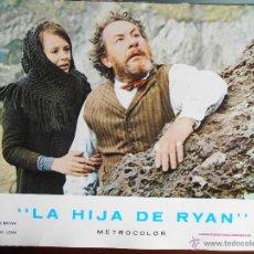 Cine: CARTEL PUBLICITARIO DE : LA HIJA DE RYAN, DE: 33,5 X 24 CTM.. Lote 46536727
