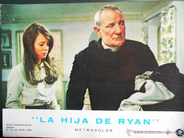 CARTEL PUBLICITARIO DE : LA HIJA DE RYAN, DE: 33,5 X 24 CTM. (Cine - Reproducciones de carteles, folletos...)