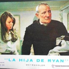 Cine: CARTEL PUBLICITARIO DE : LA HIJA DE RYAN, DE: 33,5 X 24 CTM.. Lote 46536796