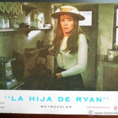 Cine: CARTEL PUBLICITARIO DE :LA HIJA DE RYAN, DE: 33,5 X 24 CTM.. Lote 46536824