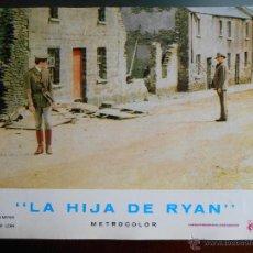 Cine: CARTEL PUBLICITARIO DE : LA HIJA DE RYAN, DE: 33,5 X 24 CTM.. Lote 46536843