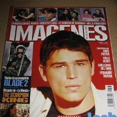 Cine: IMAGENES DE ACTUALIDAD Nº213 (ABRIL 2002) EN PORTADA:JOSH HARTNETT (LEER DESCRIPCION). Lote 46597825