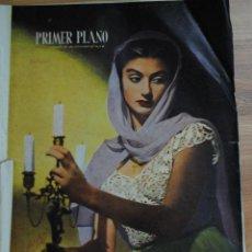 Cine: REVISTA PRIMER PLANO, MADRID 14 MAYO 1950 AÑO XI Nº 500, GENE TIERNEY, MANUEL AGUSTO GARCÍA, ANOUK. Lote 46669966