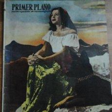Cine: REVISTA PRIMER PLANO, MADRID 5 NOVIEMBRE 1950 AÑO XI Nº 525, PAQUITA RICO, GARY COOPER. Lote 46670278