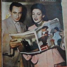 Cine: REVISTA PRIMER PLANO, MADRID 7 MAYO 1950, AÑO XI Nº 499, LINDA DARNELL Y VICK RUEDA. Lote 46677354