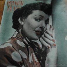 Cine: REVISTA PRIMER PLANO, MADRID 24 JUNIO 1951, AÑO XI Nº 558, LORETTA YOUNG, LOUIS JOURDAN. Lote 46704907