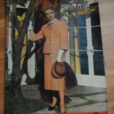Cine: REVISTA PRIMER PLANO, MADRID 2 JULIO 1950 AÑO XI Nº 507, JANE WYATT,MARIO CABRE. Lote 46704933