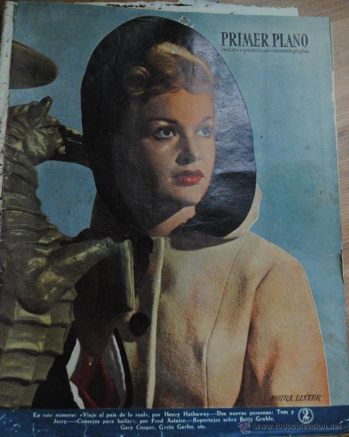 REVISTA PRIMER PLANO, MADRID 27 MARZO 1949 AÑO X Nº 441, MOIRA LISTER, GARY COOPER (Cine - Revistas - Primer plano)