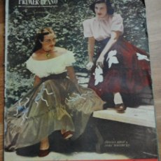 Cine: REVISTA PRIMER PLANO, MADRID 20 NOVIEMBRE 1949 AÑO X Nº 475, SHEILA RYAN JOAN WOODBURY,CORNEL WILDE. Lote 46705188