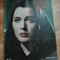 Cine: REVISTA PRIMER PLANO, MADRID 29 ABRIL 1951 AÑO XI Nº 550, PAQUITA RICO, ELISABETH TAYLOR, VIC RUEDA. Lote 46705460