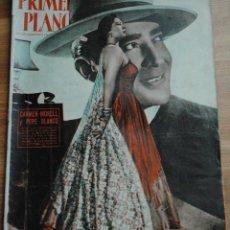 Cine: REVISTA PRIMER PLANO, MADRID 1 FEBRERO 1953 AÑO XIII Nº 642, CARMEN MORELL Y PEPE BLANCO. Lote 52801220