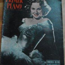Cine: REVISTA PRIMER PLANO, MADRID 4 JULIO 1954 AÑO XIV Nº 716 VIRGINIA MAYO, GIOVANI ROTA, SUSAN SHENTALL. Lote 46705735