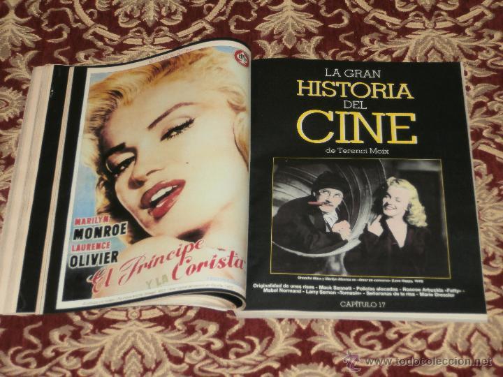 Cine: LA GRAN HISTORIA DEL CINE DE TERENCI MOIX. FASCICULOS DE ABC. REVISTA BLANCO Y NEGRO. - Foto 2 - 46708326