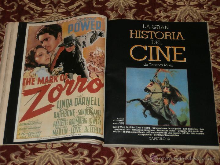 Cine: LA GRAN HISTORIA DEL CINE DE TERENCI MOIX. FASCICULOS DE ABC. REVISTA BLANCO Y NEGRO. - Foto 3 - 46708326