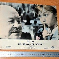 Cine: MARISOL - UN RAYON DE SOLEIL - AFICHE CINE - LOBBY CARD ORIGINAL FRANCÉS - IMPRESO EN FRANCIA. Lote 46710705