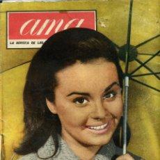 Cine: ROCÍO DURCAL. REVISTA AMA DE 1962.. Lote 46715923