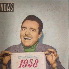 Cine: PEPE IGLESIAS -EL ZORRO-POTADA DE ONDAS1958. Lote 46726769