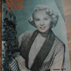 Cine: REVISTA PRIMER PLANO, MADRID 19 OCTUBRE 1952 AÑO XII Nº 627 VIRGINIA MAYO, RITA HAYWORTH. Lote 46729243