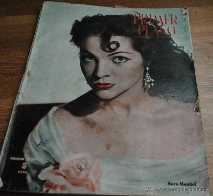 REVISTA PRIMER PLANO, MADRID 22 OCTUBRE 1950 AÑO XI Nº 523 SARA MONTIEL, NÚMERO ESPECIAL (Cine - Revistas - Primer plano)