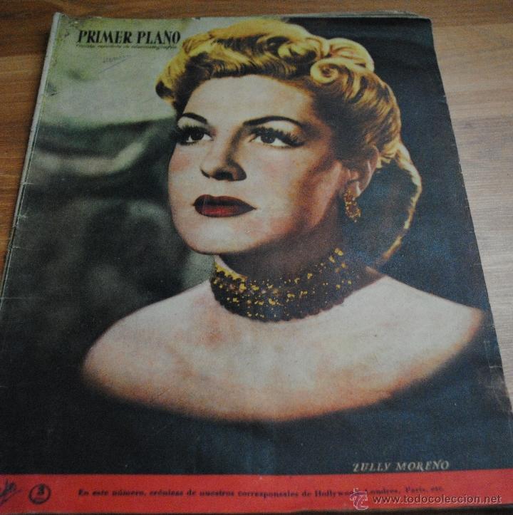 REVISTA PRIMER PLANO, MADRID 10 SEPTIEMBRE 1950 AÑO XI Nº 517 ZULLY MORENO, IDA LUPINO (Cine - Revistas - Primer plano)